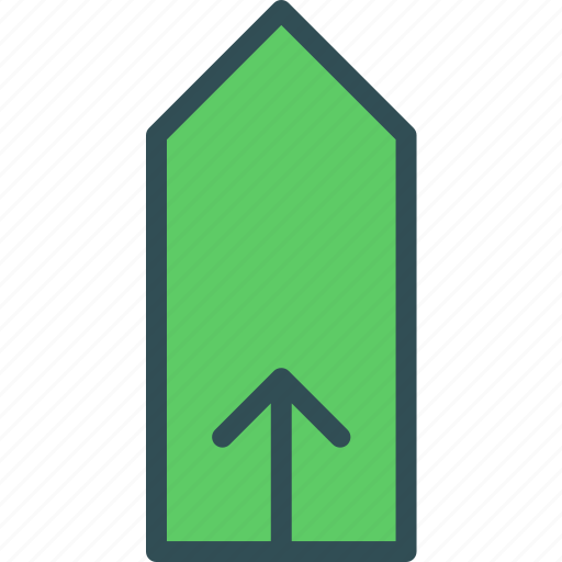 arrow, directionup, tag, upload icon