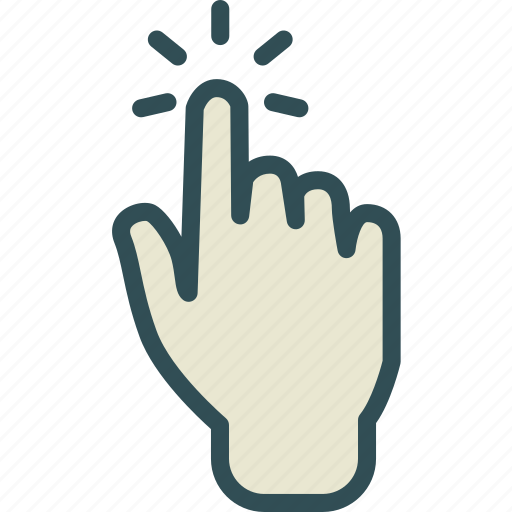 gesture, hand, tap, touch, touchtap icon