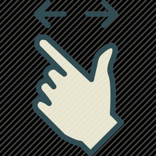 arrow, closeupup, hand, upload, zoom icon