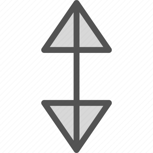 arrow, direction, down, up, upload icon