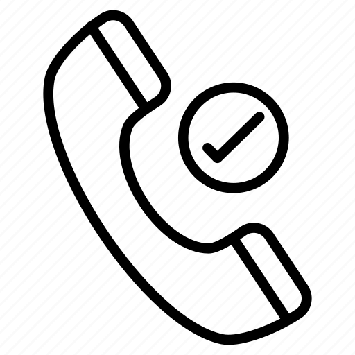 call, phone, receiver, support, tested icon