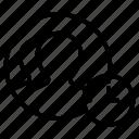 deadline, group, profiles, stopwatch, users icon