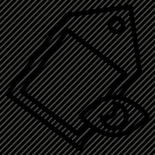 eye, label, seen, tag, view icon
