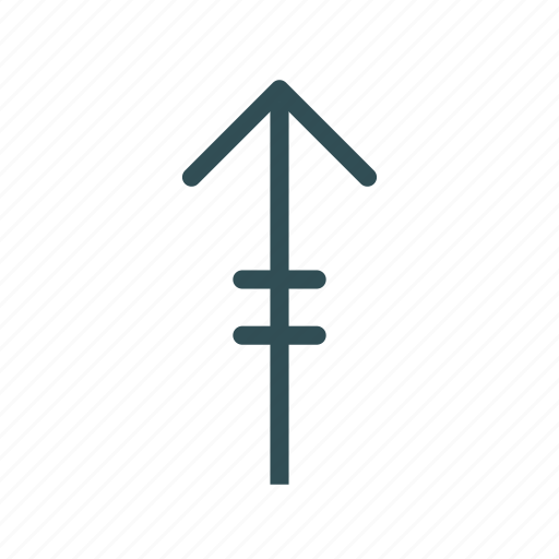 arrow, equal, up icon