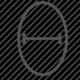 circle, geometry, segment, shape icon