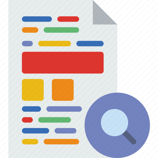 action, app, file, interaction, interface, search icon
