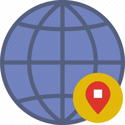 action, app, interaction, interface, location, web icon