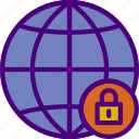 action, app, interaction, interface, lock, web icon