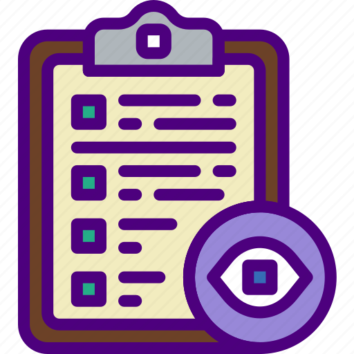 action, app, clipboard, hide, interaction, interface icon