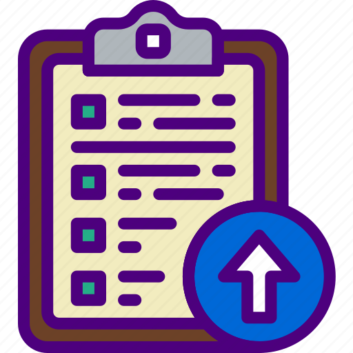 action, app, clipboard, interaction, interface, upload icon