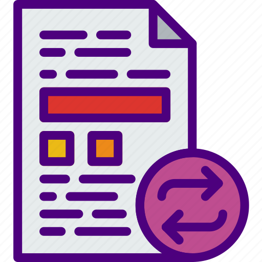 action, app, file, interaction, interface, sync icon