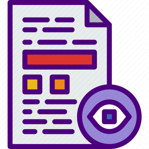 action, app, file, hide, interaction, interface icon