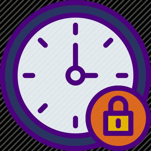 action, app, clock, interaction, interface, lock icon