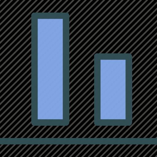 align, bottom, edges icon