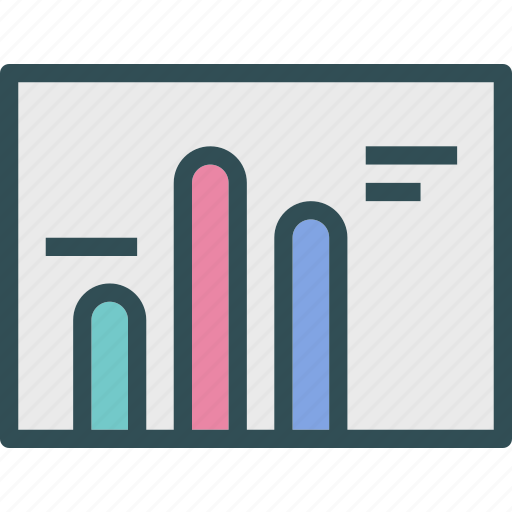 analysis, graph, interface, stats icon