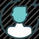 add, avatar, calculator, gallery, maleplus, photos, picture icon