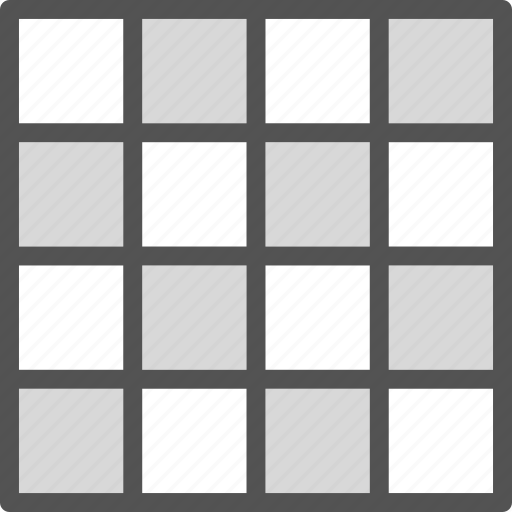 grid, interface, layout, table, web icon