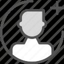 add, avatar, calculator, gallery, maleplus, photos, picture