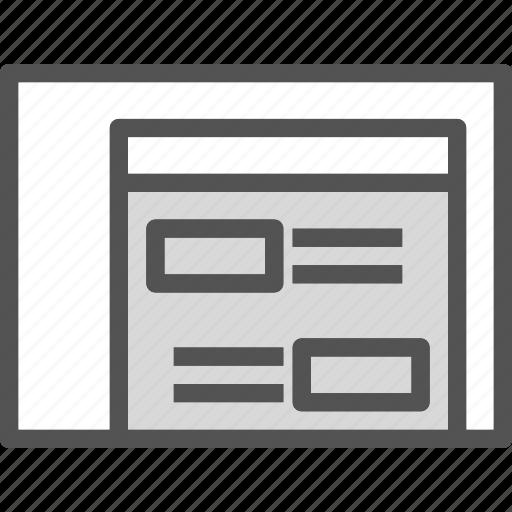 arrange, brows, layers, list, orderer, site, web icon