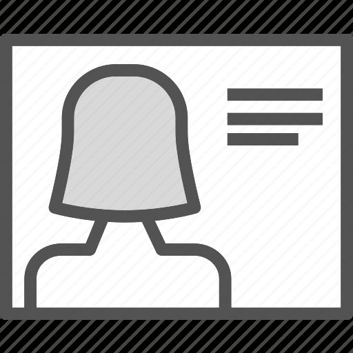 avatar, female, pic, profile, user icon