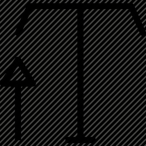 arrow, edit, enlarge, increase, text, write icon