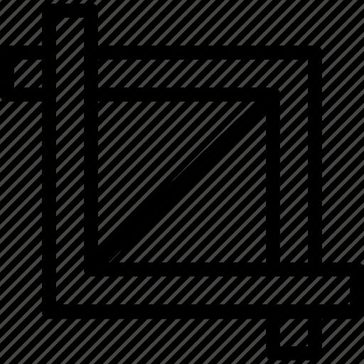 chip, crop, cut, design, processor, tool icon
