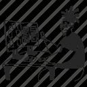 interface, testing, desk, work, working