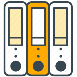archive, database, interface, save, storage icon