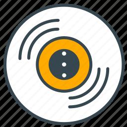 burn, cd, device, dvd, interface, storage icon