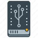 device, hdd, interface, storage, technology icon