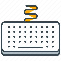 computer, device, interface, keyboard, type icon