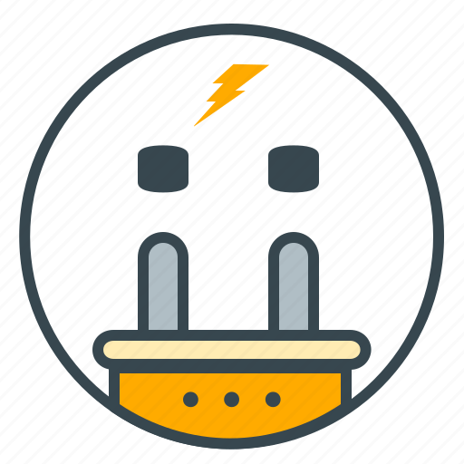 electricity, energy, interface, plug, power, socket icon