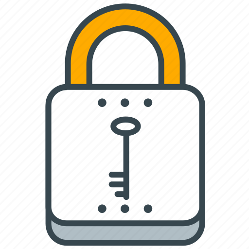 interface, key, lock, safety, security icon