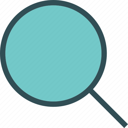 find, investigateplain, research, search icon