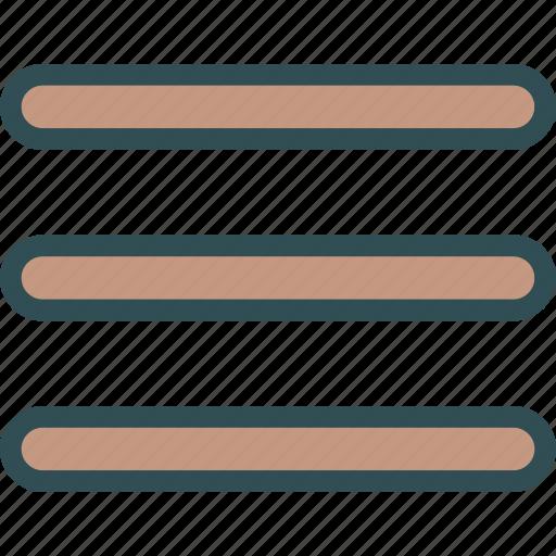 arrange, hamburger, list, menu, row, table icon