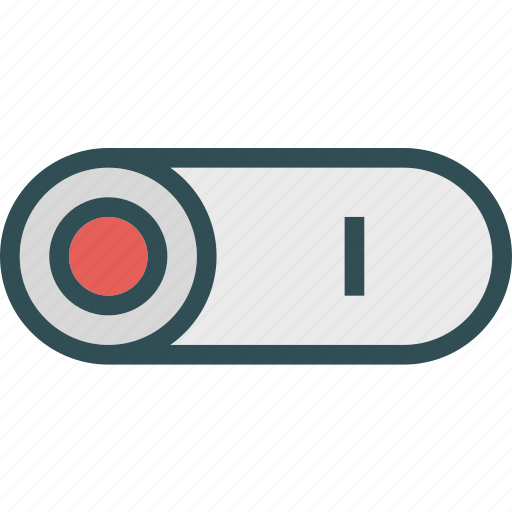 buttonsbutton, off, on, press icon