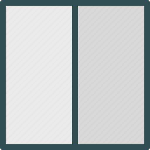 layout, style, table, twocolumn, view icon