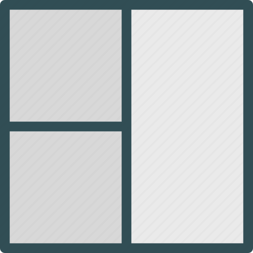 layout, style, tablegrid, twocolumn, view icon