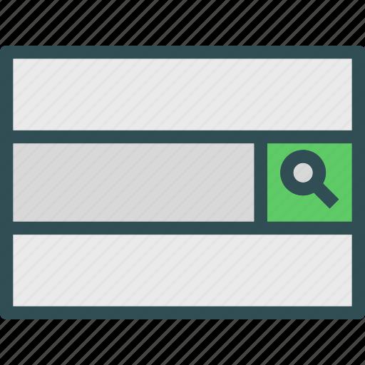 find, investigatebar, research, search icon