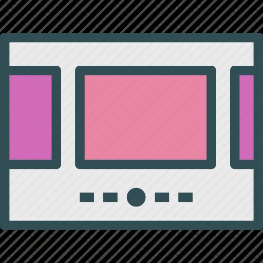 code, gallery, header, slider, web icon