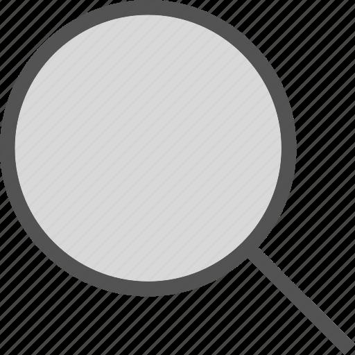 find, investigateplain, research, search icon