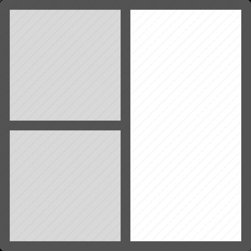 layout, style, tablegrid, twocolumn, view icon