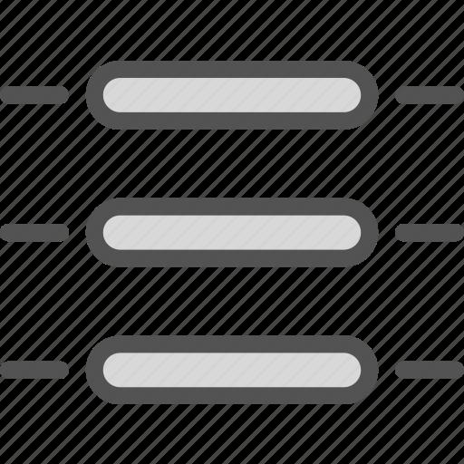 hamburger, list, menu, stylish, view icon