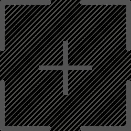 add, calculator, targetplus icon