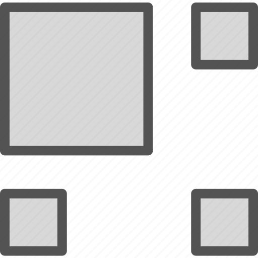 gallery, gridstyle, interface, pic, thumbnail icon