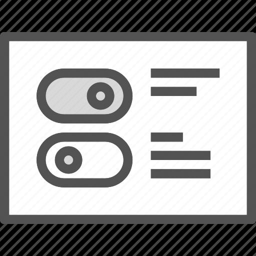 dashboard, edit, options, settings icon