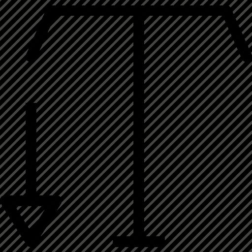 edit, shrinktext, write icon