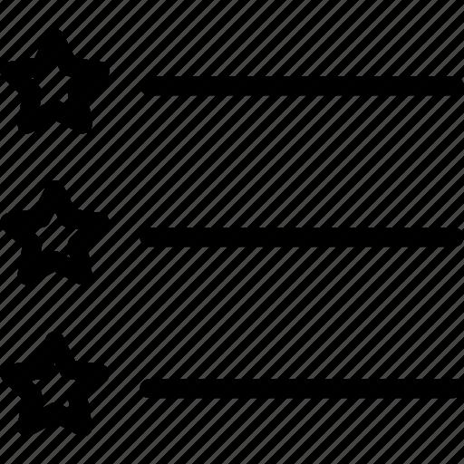 drag, edit, list, starpoint icon
