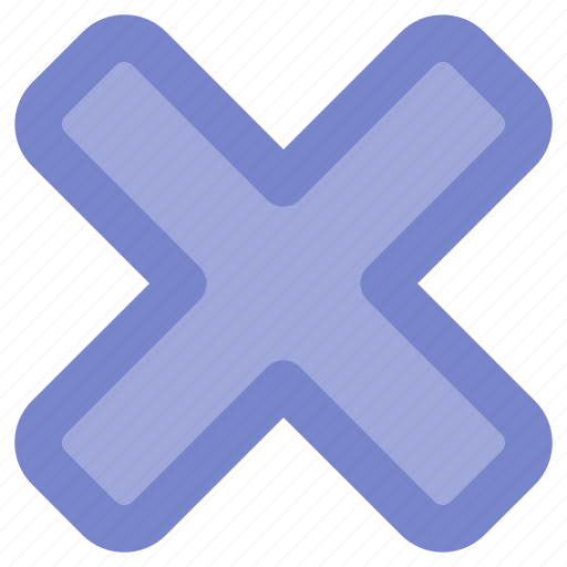 close, color, interface, ui, ux, x icon