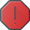 attention, interface, ui, user icon